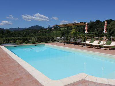 Photo for Beautiful Villa with Private Pool and Spectacular Views of Apuan Alps