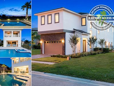Photo for MUST SEE - Ultimate, Modern Pool Home near Disney!