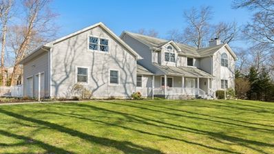Photo for Beautiful spacious 4 bedroom home with pool in the Village of Sag Harbor