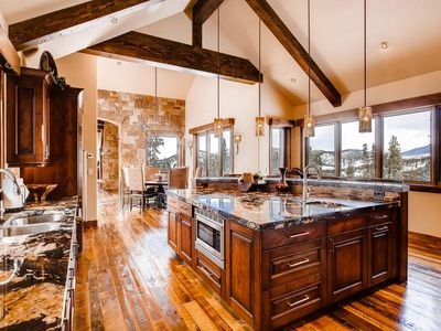 Photo for Mountain Elegance with Expansive Views, Privacy and Luxurious Amenities