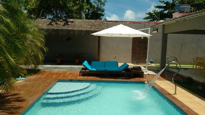 Photo for Beautiful new house with pool and 4 bedrooms, beach of Tamandaré