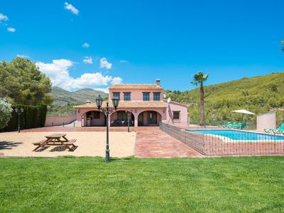 Photo for Lleus Villa, Sleeps 8 with Pool and Air Con