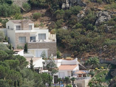 Photo for Magnificent villa with stunning seaview