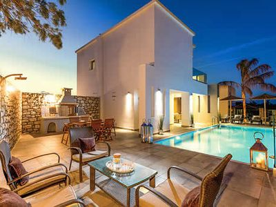 Photo for Set back from the splendid sandy Gennadi Beach, Villa Maia enjoys an enviable location popular with beach lovers. Spectacular views of the sea and the beach are on hand and there are a couple of laid back beach bars within walking distance