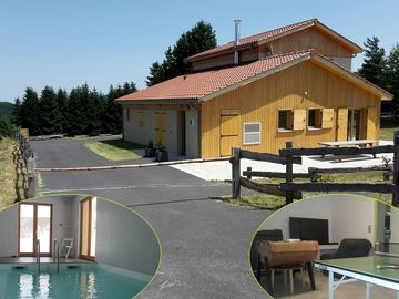 1200m cottage with indoor pool