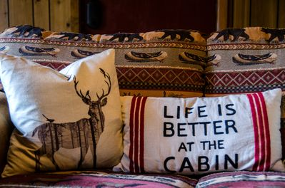 Life is better at the cabin!