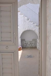 Photo for AMORGOS Chora-Elegant mansion,courtyard and sea view terrace