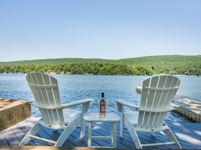 Photo for Lakefront Luxury on Greenwood Lake