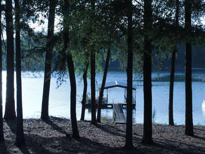 Photo for Lakefront Property Getaway With Dock And Ramp, Near Clemson