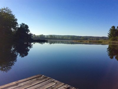 Restful Waterfront Retreat - walk to Short's and Bellaire, MI