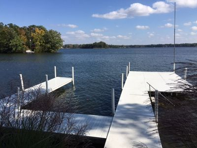 Photo for Beautiful Lakefront Home On Charming Lake Webster, IN
