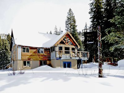 Photo for Ski in Ski out PARADISE in the Winter! Perfect Wedding Cabin in the Summer!