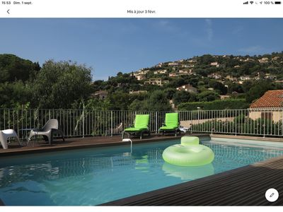 Photo for Cavalaire on sea. Beautiful air-conditioned villa.  Swimming pool