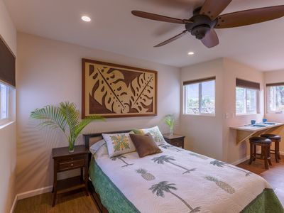 Photo for Tropical Beach Paradise Studio Cottage 1 Block to beach & A/C