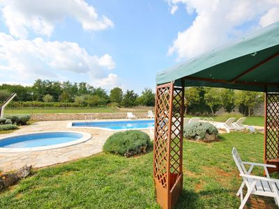 Photo for Holiday house with outdoor pool and children pool