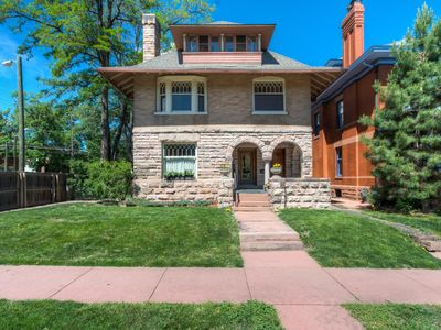 Photo for Historic Mansion with 2 King beds North Cheesman Park