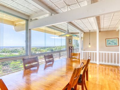 Photo for NEW LISTING! Beautiful home w/ ocean view, private pool, hot tub & covered lanai
