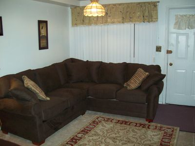 Photo for A Great Stay for All Seasons. 5 to 10 minute walk to the ski slopes or log.
