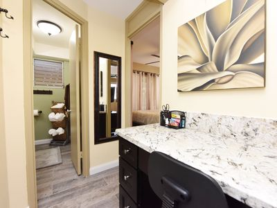 Photo for PRIVATE END-UNIT Condo Suite in Heart of Waikiki, steps from beach, sleeps 5*