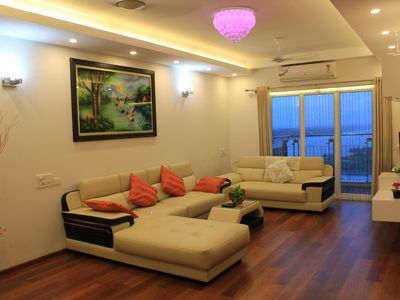 Cochin Luxury Apartment Backwater facing 4 BRK Marine Drive