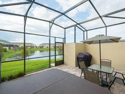 Photo for Spacious Townhome w/ Lovely Patio & Pond View