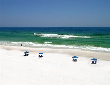 Photo for Wow!!!  Remodeled Beach front 4th flr condo RIGHT on the Gulf. Inc free Netflix