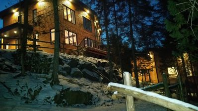 Photo for Chalet La Busteni on the lake Labelle Tramblant area