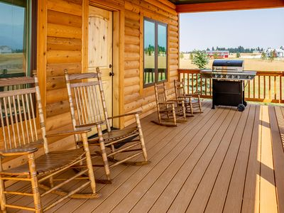 Photo for NEWER CLEAN QUIET CABIN WITH GREAT VIEWS