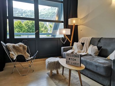Photo for SAINT LARY SOULAN - CLOSE TO TELECABINES - FRIENDLY APARTMENT - 2 PEOPLE