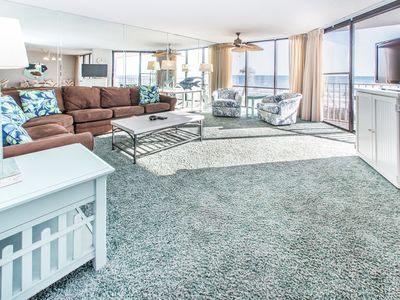 Photo for BeachFRONT☀Pools+Hot Tubs☀2Step Sanitizing Process☀2BR Windward 106 at Edgewater