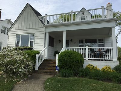 Photo for Beautiful lakefront home 3 blocks from the beach