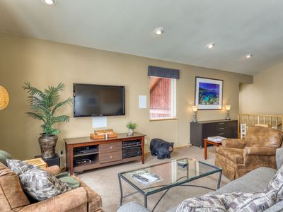 Photo for Family-friendly home w/ hot tub, a full kitchen & deck - near skiing & trails