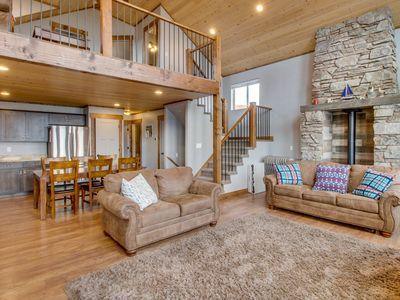 Photo for NEW LISTING! Lakeview vacation home w/shared pool and hot tub & panoramic views
