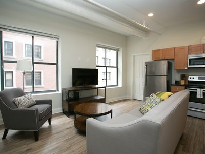 Photo for Chic 2BR in Financial District by Sonder