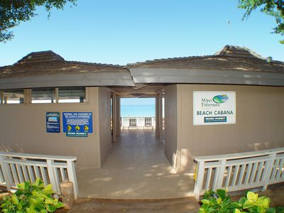 Entrance to Oceanfront Clubhouse