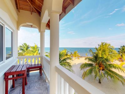 Photo for Four private, beachfront condos right in town - great for group trips & families