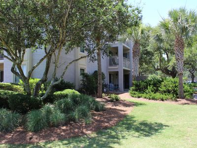 Photo for 1748 Bluff Villa, 1st floor end unit, very accessible!