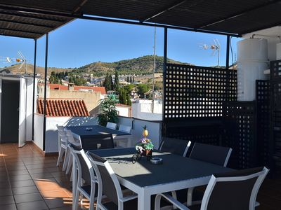 Photo for Apt, 2 bedrooms, terrace and 2 min walk from the Mirador San Nicolas
