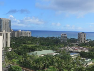 Photo for Ocean View Studio In Fabulous Waikiki Beach, Just Remodeled, On The 25th Floor