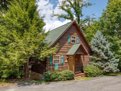 Photo for 1 Bedroom Cabin Between Pigeon Forge and Gatlinburg with a Mountain View