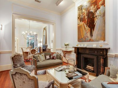 Photo for Historic District 2BR Showpiece w/ Elegant Interiors & Private Courtyard