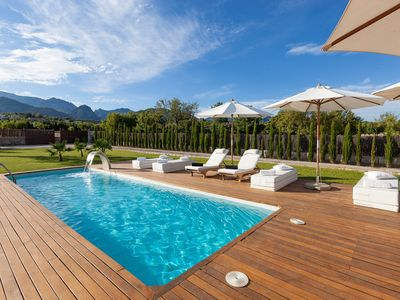 Photo for Beautiful country villa with barbecue, orchard and swimming pool
