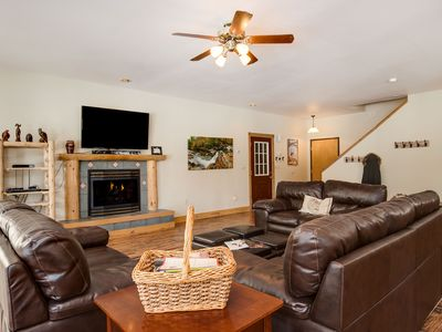 Photo for Breck Mountain Retreat with Large Open Floor Plan