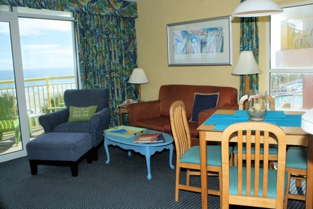 2 Bedroom 2 Bath Oceanfront Condo Outdoor Pool Indoor Pool Lazy River Pets Allowed Only From