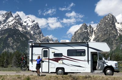 """Photo for Tahoooo! Nimble, versatile and spacious family RV...  & mobile """"Guest House"""""""