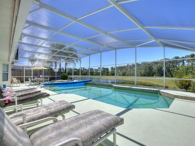 Photo for Secluded Luxury Pool Home, Close to Disney w/ Oversized pool  Special offers now