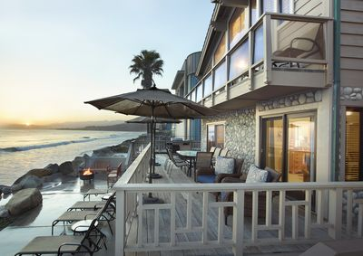 Outstanding Beach House On The Water Between Santa Barbara And Ventura Ventura Complete Home Design Collection Epsylindsey Bellcom