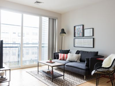 Photo for Sonder | Seaport District | Chic 1BR + Laundry