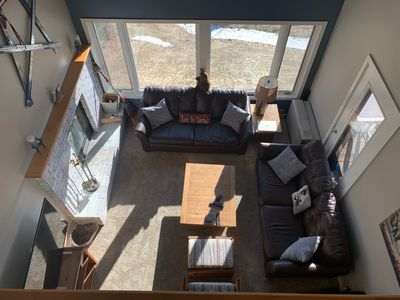 Photo for Ski-In/Walk Out 3 BR Summit Condo + Studio Apt. and Great Views.