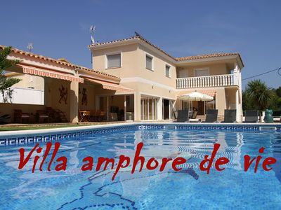 Photo for GREAT AND BEAUTIFUL RECENT VILLA ALL COMFORT IN AREA RESIDENTIAL